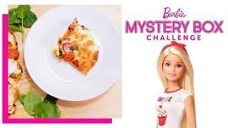 @Barbie  Pizza Challenge  Barbie&#39s Mystery Box Challenge