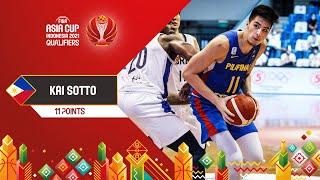 Kai Zachary Sotto scored 11 points vs. Korea   Players Highlights