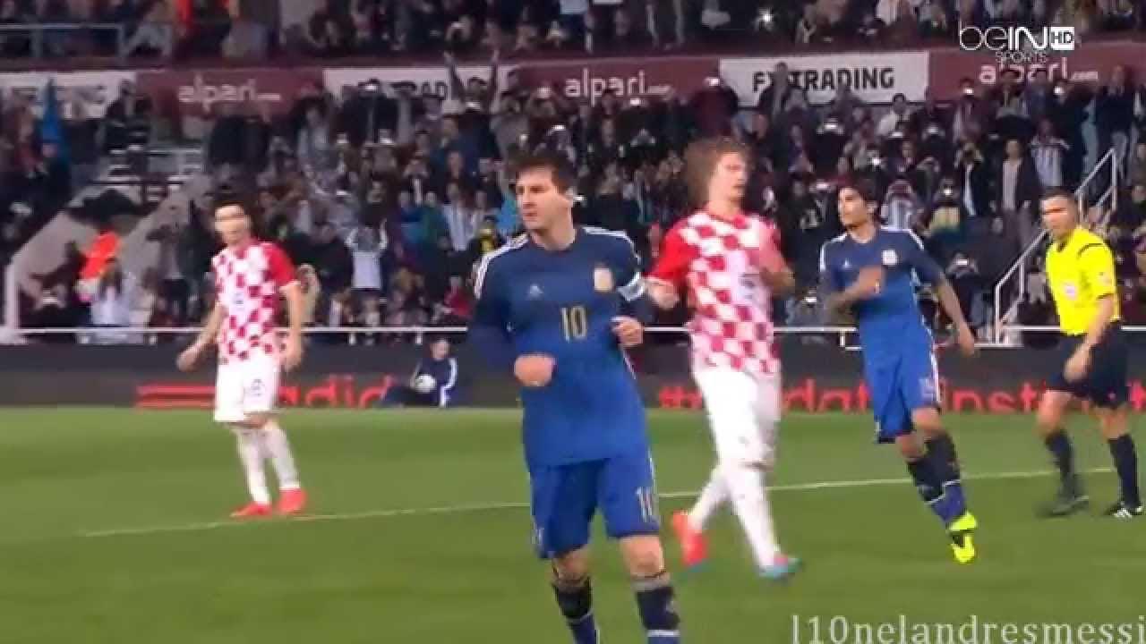 Download Lionel Messi vs Croatia 12 11 2014 HD
