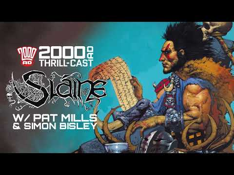 The 2000 AD Thrill-Cast: Sláine The Horned God