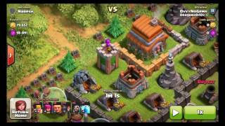Clash Of Clans WORST BASE IN CLASH OF CLANS HISTORY! Funny Noob Base Design Let's Play