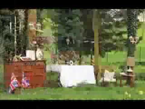 Garden party decoration - YouTube
