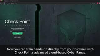 Checkpoint - Cyber Range