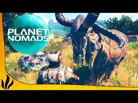SURVIVRE SUR UNE PLANÈTE HOSTILE ! (Planet Nomads)