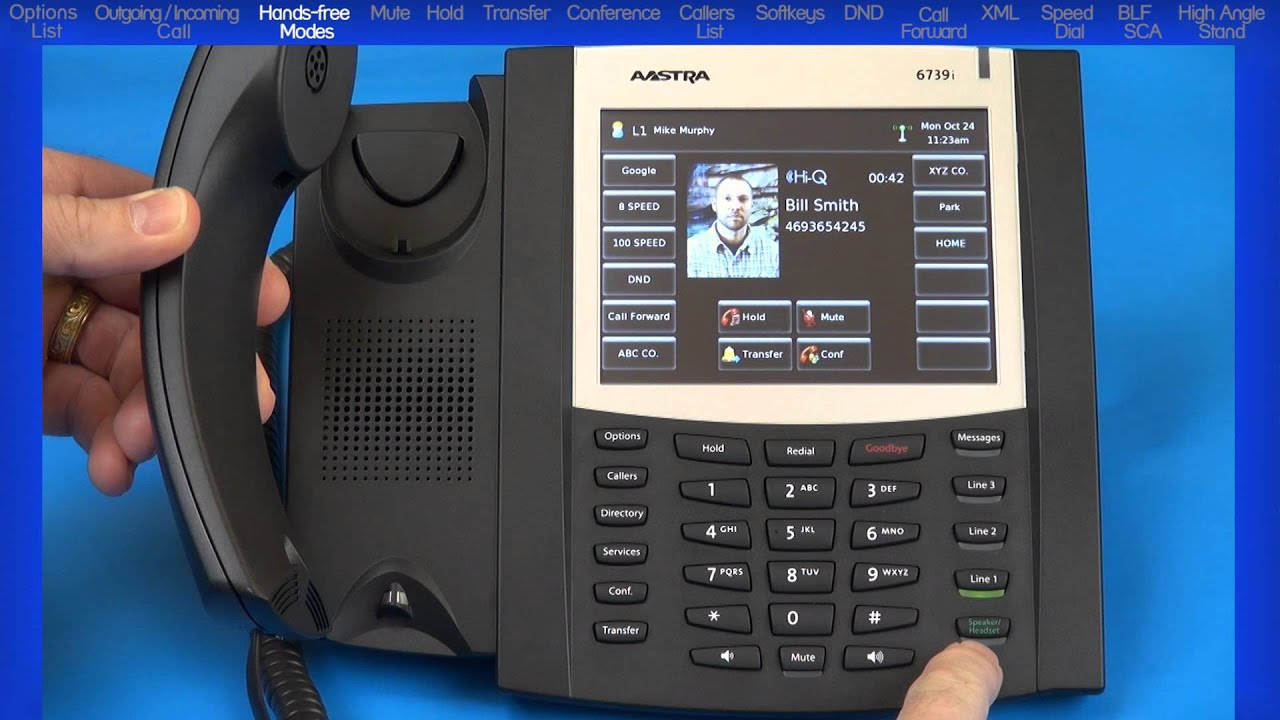 Mitel® 6739i Tutorial - End User Training and Features