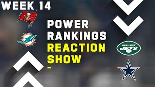 Week 14 Power Rankings Reaction Show