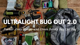 UPDATED! Green Beret's Ultralight Bug Out Bag with Gear Recommendations