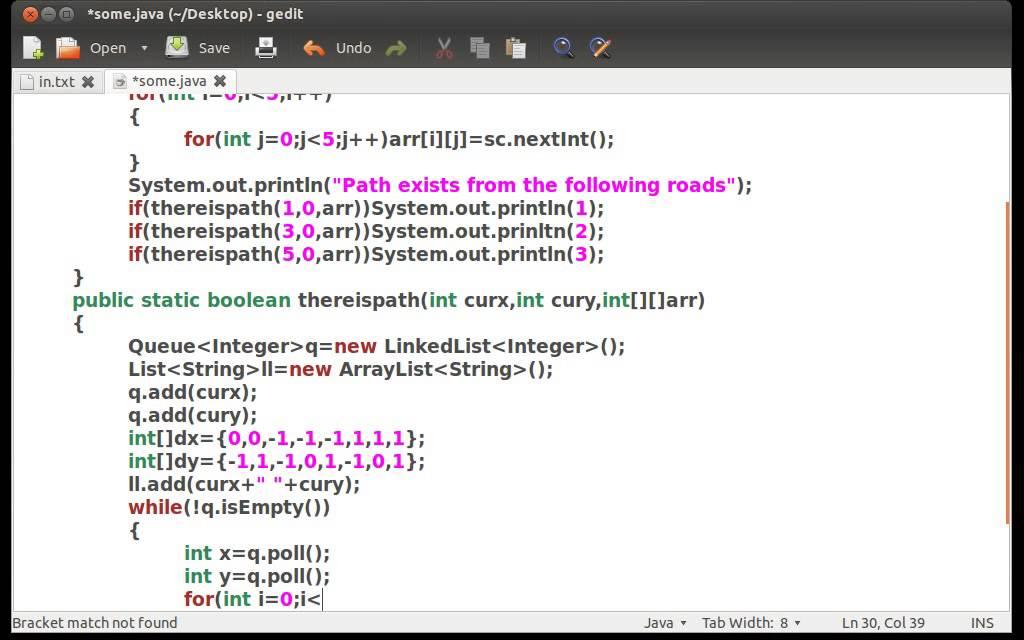 Bfs program in c using adjacency matrix | C++: Breadth First Search