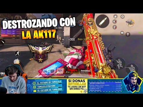 DESTROZANDO CON LA AK117 YEAR OF THE RAT !! COD MOBILE CALL OF DUTY MOVIL