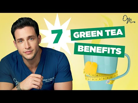 7 Health Benefits of Green Tea & How to Drink it | Doctor Mike
