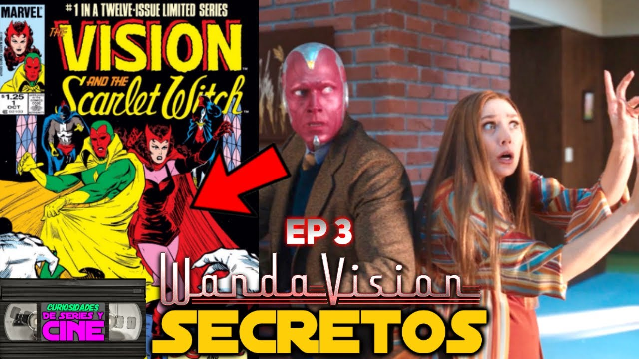 Wandavision Ep 3 -Secretos, referencias, easter eggs