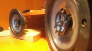 Тест звука динамиков SONY XS-F1325R