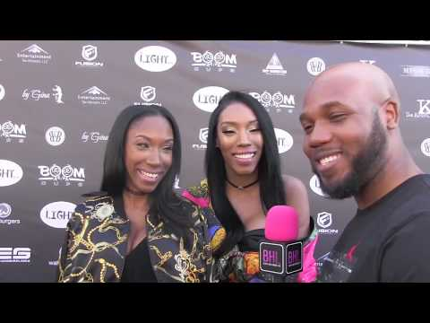 Ali Sisters on the Couture Against Cancer Red Carpet