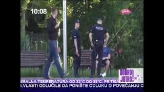 bezanje od policije