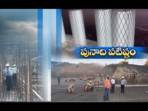 Amaravati Buildings Works Going on full Swing