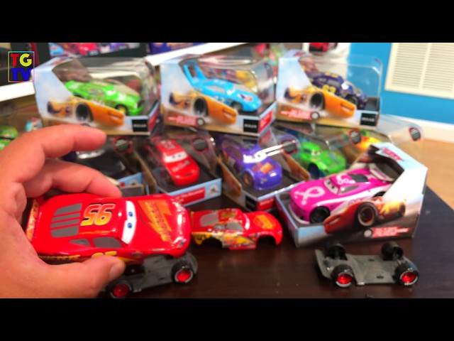 New Cars 3 Diecast Cars from Disney Store