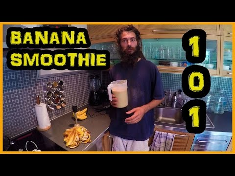 TOP 3 TIPS FOR A PERFECT RAW VEGAN BANANA SMOOTHIE