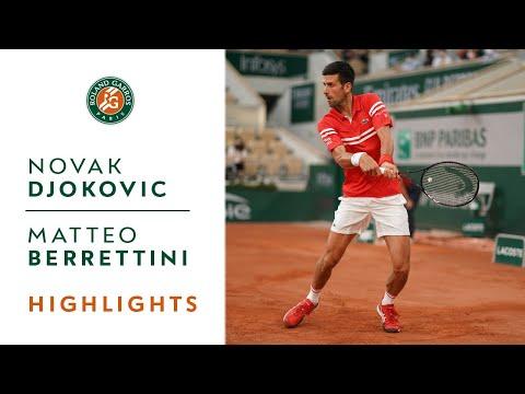 Novak Djokovic vs Matteo Berrettini - Quarterfinals Highlights I Roland-Garros 2021
