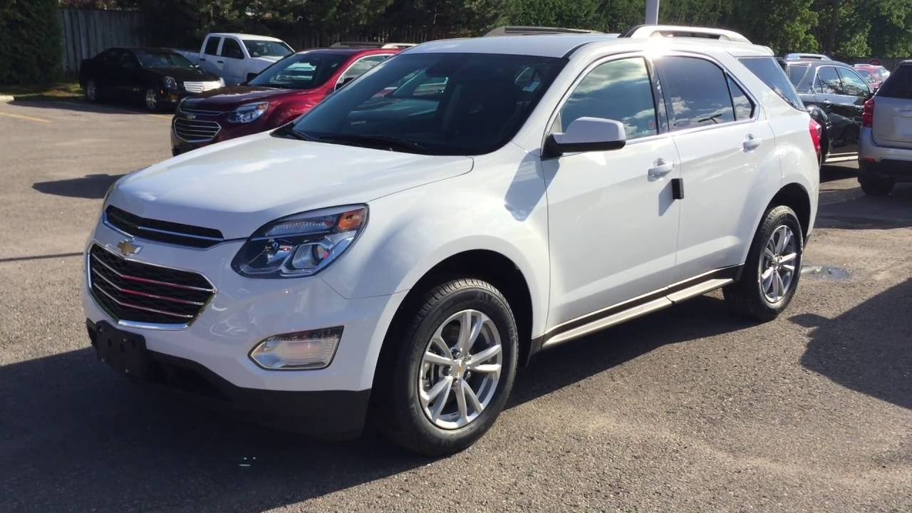 hight resolution of 2017 chevrolet equinox lt summit white roy nichols motors courtice on