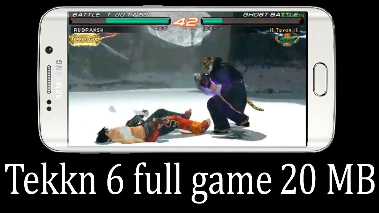 [20 MB] Tekken 6 Download For Android Ultra Highly Compressed PPSSPP  {Gameplay Proof}