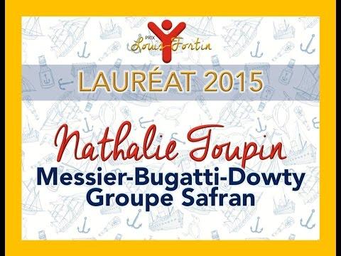 Prix Louis-Fortin 2015 - Lauréate: Nathalie Toupin (Messier-Bugatti-Dowty Groupe Safran)