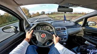 Fiat Punto 1.4 8V 77HP (2009) | POV Test Drive Onboard