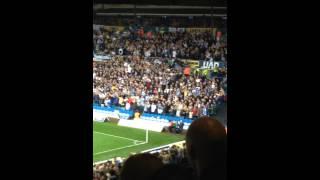 Leeds fans singing