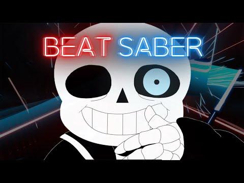 Beat Saber - Sans Battle - Stronger Than You (Undertale Animation Parody) | FULL COMBO Expert