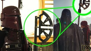 Episode 9 Knights of Ren HUGE Solo Easter Egg Reveals MANDALORIAN IDENTITY