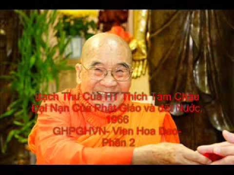 GHPGVNTH- Bach Thu 2  Thich Tâm Châu- Đại Nạn Của Phật Giáo 1966