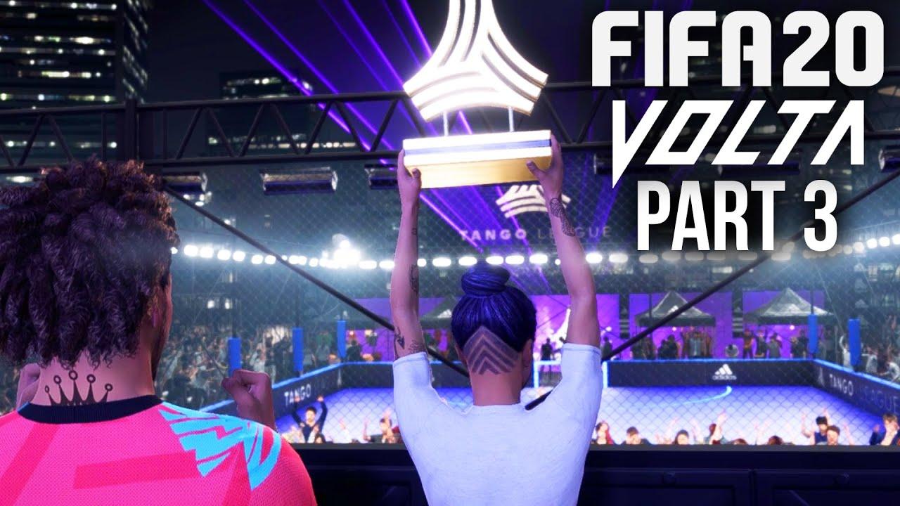 Procédures pas à pas pour la FIFA 20 - VOLTA Gameplay - GAGNANT DU TOURNOI + vidéo