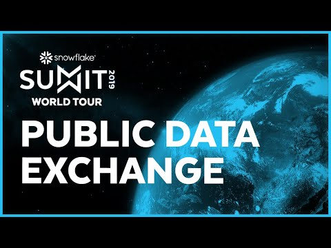 SUMMIT 2019 Public Data Exchange
