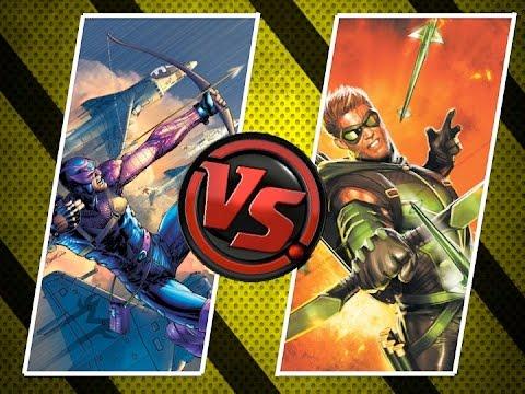 Versus: Hawkeye vs Green Arrow