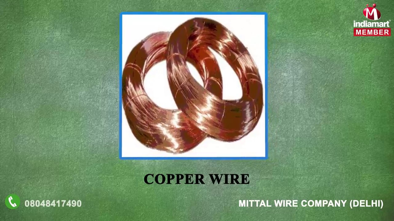 Electrical Cables And Wires By Mittal Wire Company Delhi Youtube Cable Wiring