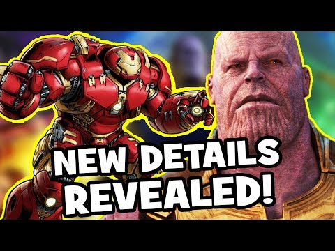 AVENGERS INFINITY WAR New Scenes REVEALED! – Soul Stone, Hulkbuster, Captain America, Iron Man