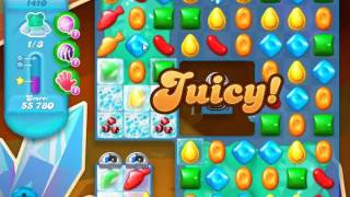 Candy Crush Soda Saga Level 1410 - NO BOOSTERS