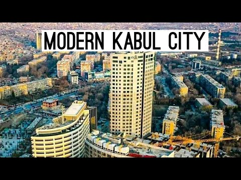 Modern Kabul City Afghanistan