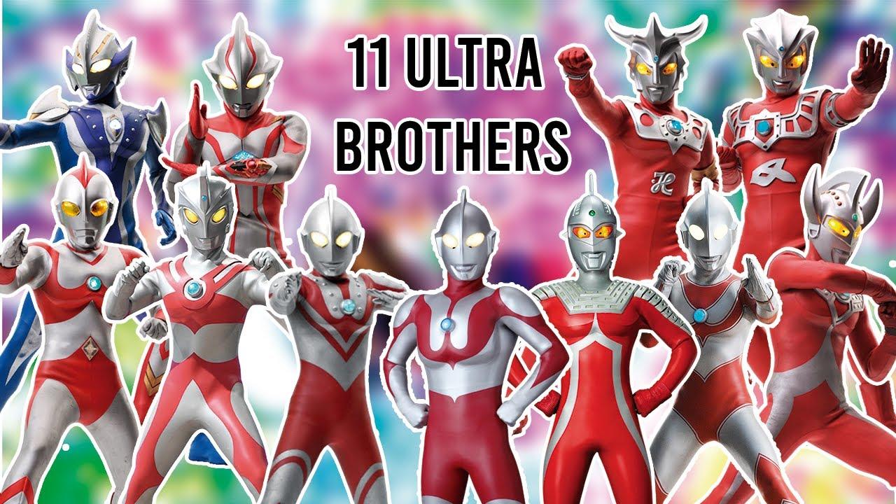 Download AWALNYA 6 ULTRAMAN, AKHIRNYA 11 ULTRAMAN !! - 11 Anggota Ultra Brothers