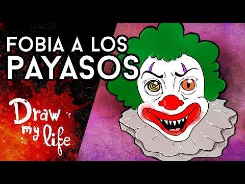 ¿Cómo se LLAMA el MIEDO a los PAYASOS? - Draw My Life en Español
