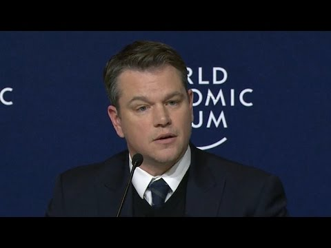 Matt Damon: Give Trump the benefit of the doubt