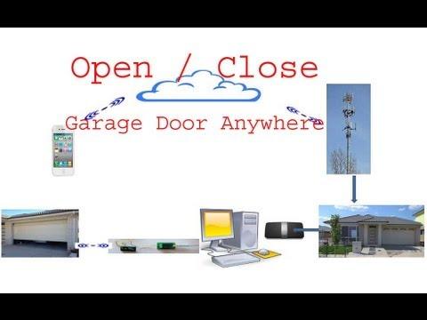 open garage door with iphoneHow To Use iphone to Open Close Garage Garage Door Anywhere With