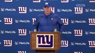 """Pat Shurmur Adamant the Giants """"Need to Get Better"""""""
