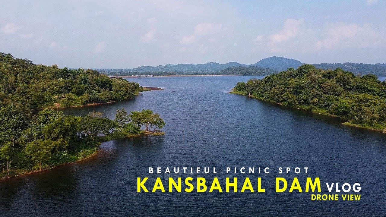 Kansbahal Dam Vlog II Beautiful Picnic Spot Near Rourkela 😍 ll Kansbahal Dam Drone View😘😘Must Watch