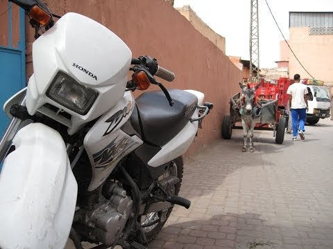 [Slow TV] Motorcycle Ride - Morocco - Marrakesh to Agadir