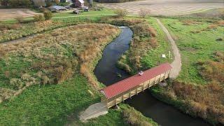 Helen's Bridge Construction Drone Time-Lapse