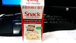 Bumble Bee Snack on the Run, Chicken Salad