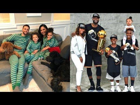 LeBron James's Family vs Stephen Curry's Family ★ 2019
