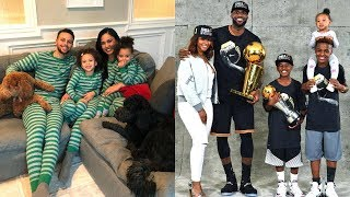 LeBron James's Family vs Stephen Curry's Family ★ 2019