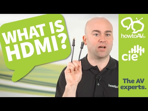 What is HDMI?  (High Definition Multimedia Interface)