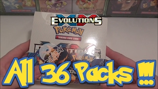 full xy evolutions booster box opening